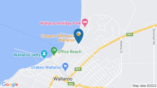 Wallaroo Marina Apartments Map