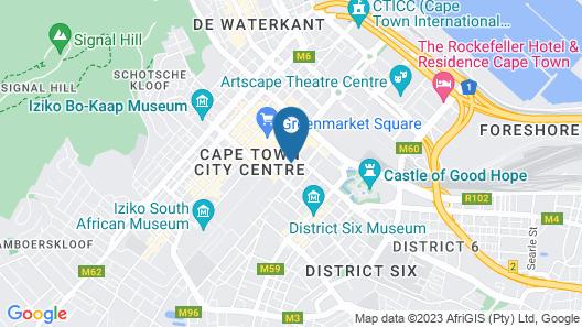 Cape Diamond Boutique Hotel Map