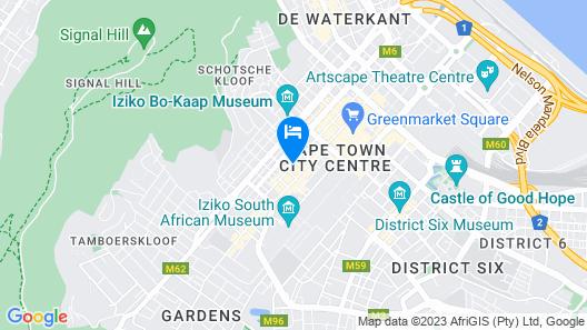Pepperclub Hotel Map