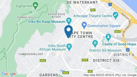 Happy Rhino Hotel Map