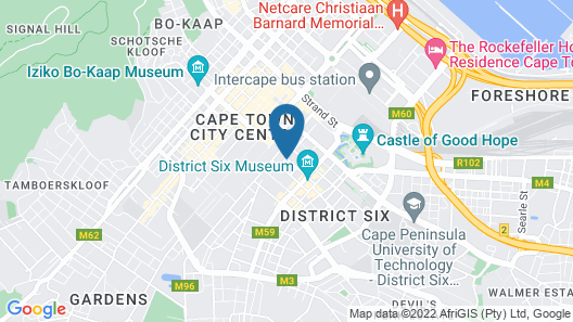 Townhouse Hotel Map