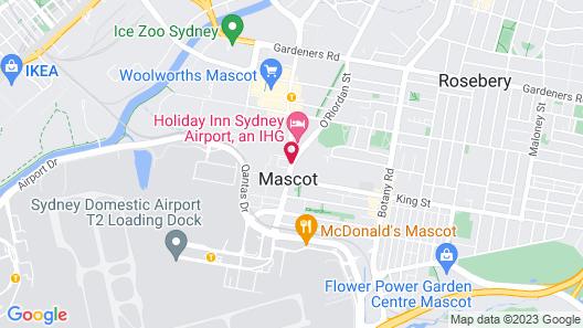 Pullman Sydney Airport Map