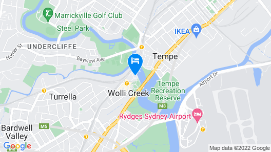 Exclusive apartment with water views Map