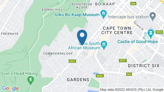 The Cape Milner Map