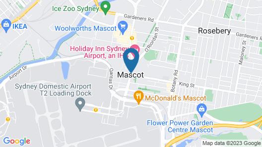 ibis Sydney Airport Map