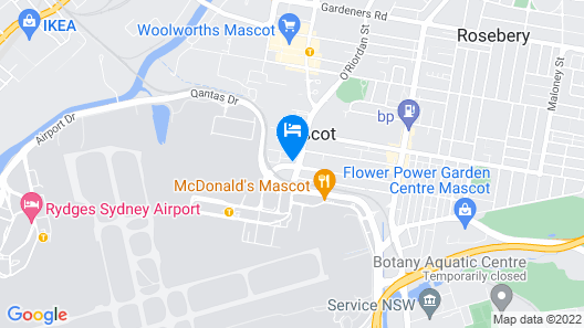 Holiday Inn Express Sydney Airport, an IHG Hotel Map