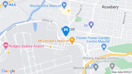 Stamford Plaza Sydney Airport Hotel & Conference Centre Map