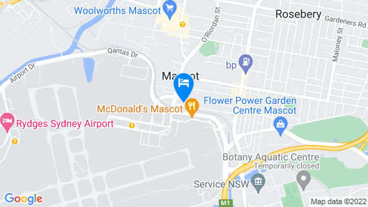 Citadines Connect Sydney Airport Map