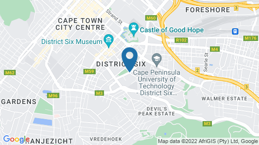 Best Western Cape Suites Hotel Map