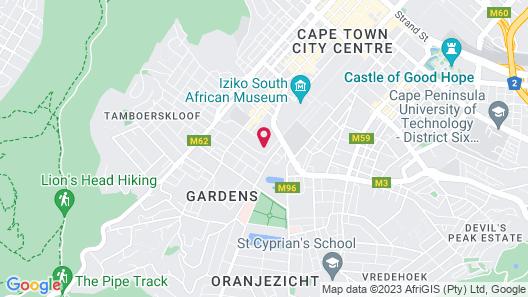 Mount Nelson, A Belmond Hotel, Cape Town Map