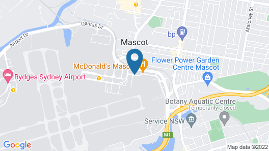 Mantra Hotel at Sydney Airport Map
