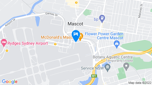 ibis budget Sydney Airport Map