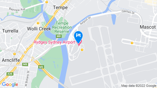 Rydges Sydney Airport Hotel Map