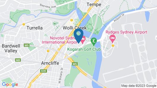 CKS Sydney Airport Hotel Map