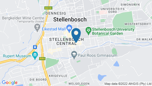 Coopmanhuijs Boutique Hotel Map
