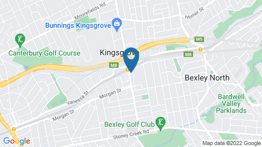 Kingsgrove Hotel Map