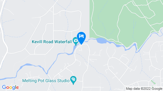 Waterfall Cottages Map