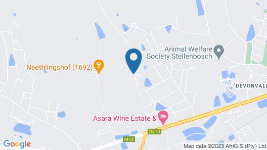 Asara Wine Estate & Hotel Map