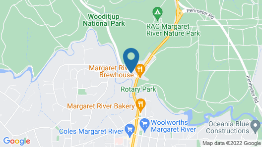 Riverglen Chalets Map