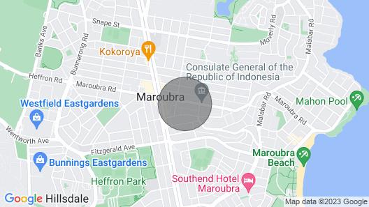 Cute Studio Apartment in Maroubra Map