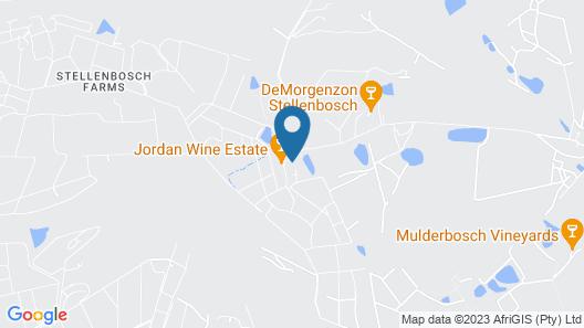 Jordan Wines Luxury Suites Map