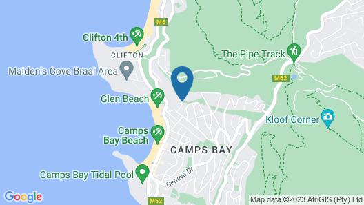 Camps Bay Retreat Map