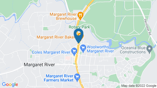 Margarets in Town Apartments Map