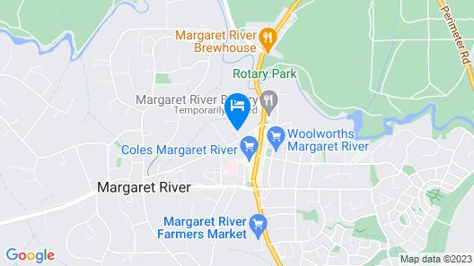 Margaret River Guest House Map