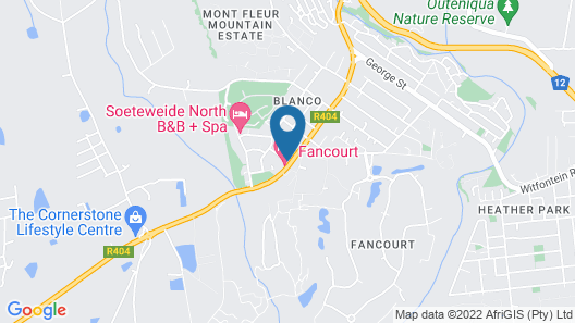 The Manor House at Fancourt Map