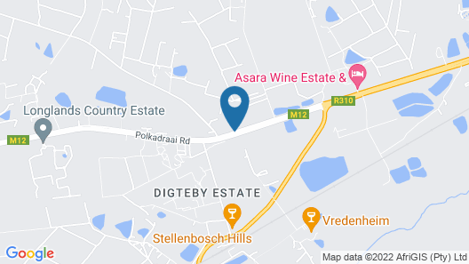 Lovane Boutique Wine Estate & Guesthouse Map
