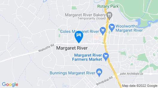 Margaret River Resort Map