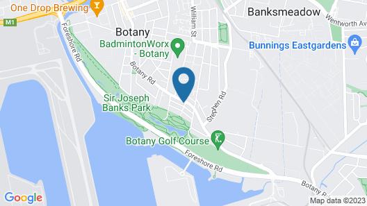 Sir Joseph Banks Hotel Map
