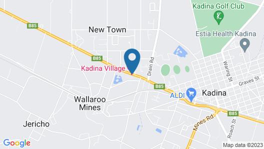 Kadina Village Motel Map