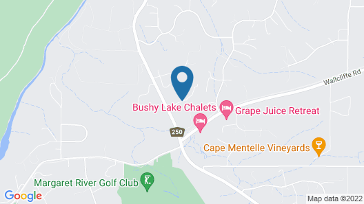 Margaret River Bed and Breakfast Map