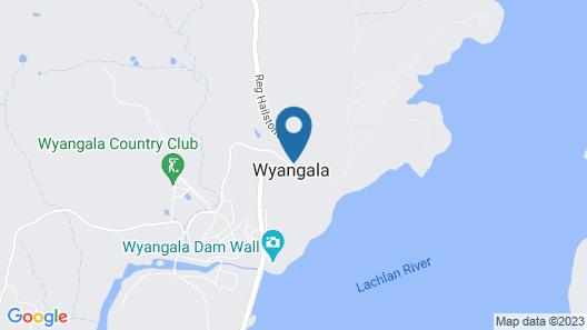 Reflections Holiday Parks Wyangala Map