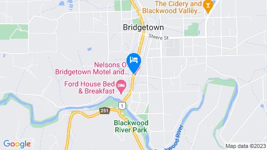 Nelsons of Bridgetown Map