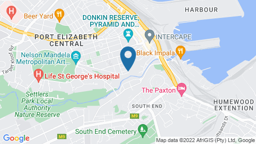 Island Vibe Port Elizabeth Map