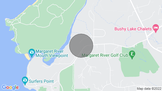 Princess House Margaret River Map