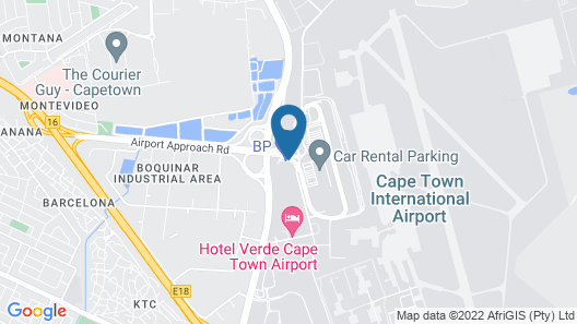 Road Lodge Cape Town International Airport Map