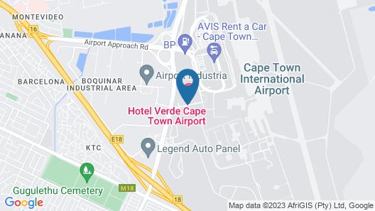 Hotel Verde Map