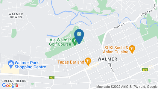 Forest Hall Guest House Map
