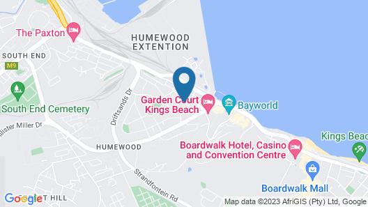Algoa Bay Bed & Breakfast Map