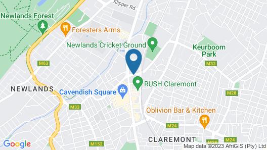 Park Inn by Radisson Cape Town Newlands Map