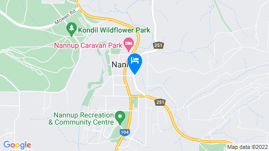 The Black Cockatoo Nannup Map