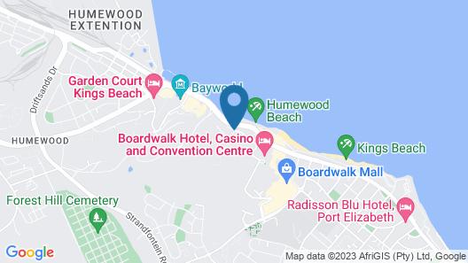 Road Lodge Port Elizabeth Map