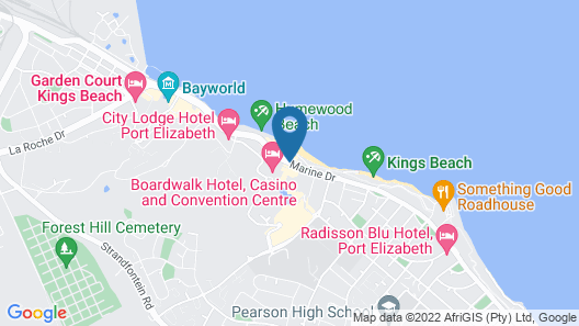 The Beach Hotel Map