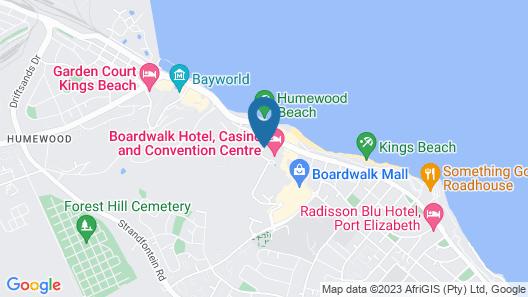 The Boardwalk Hotel Map