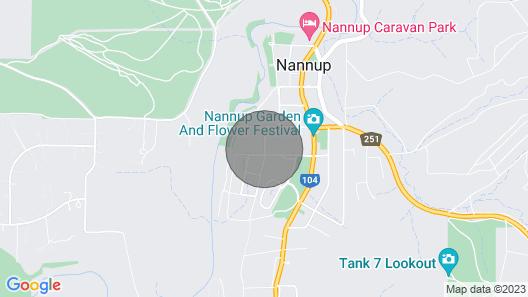 Nannup Homestay Map