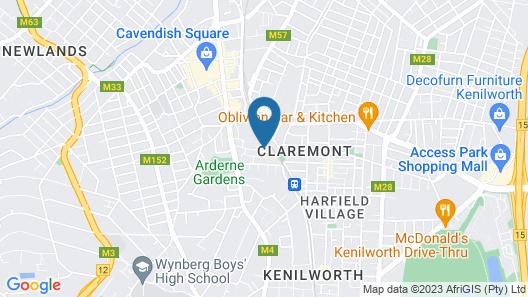 The Quadrant Apartments Map