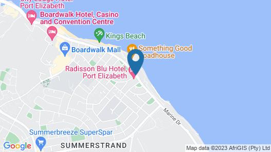 Radisson Blu Hotel, Port Elizabeth Map